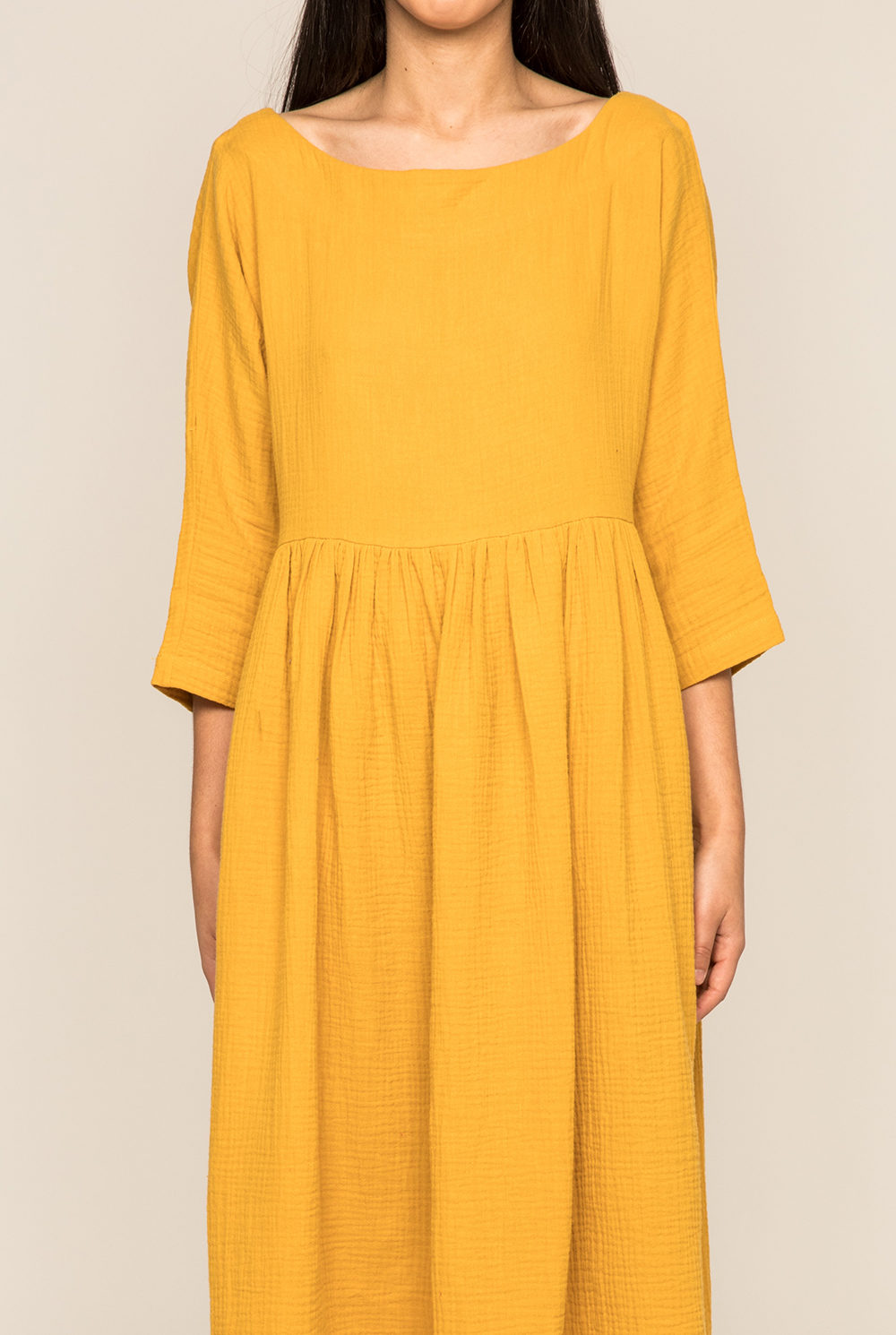 Robe Tanger moutarde