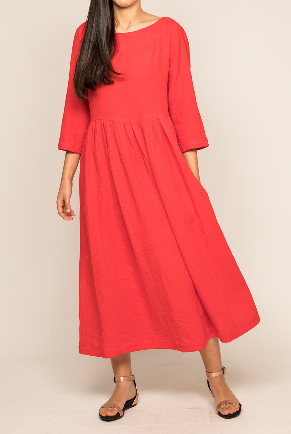 Robe Tanger rouge