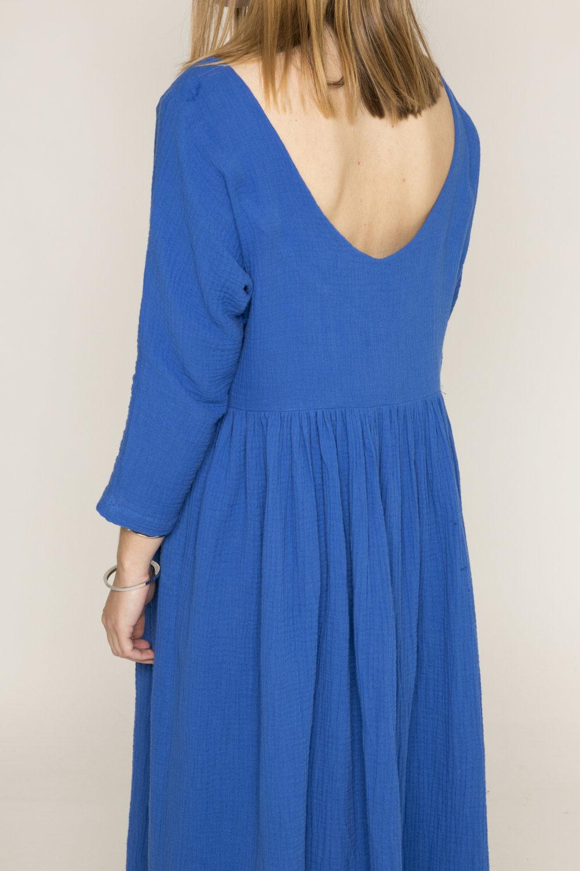 Robe Tanger bleue