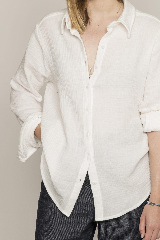 Chemise honorine blanche