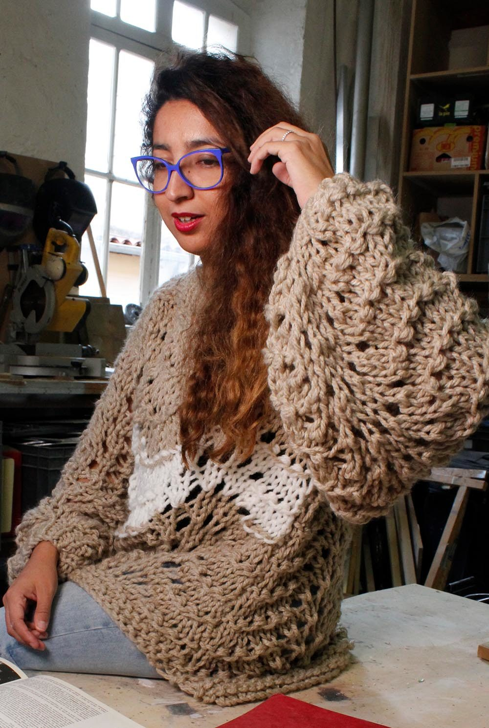Pull en laine honorine collection hiver 19